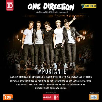 One-Direction-Preventa-Agotada