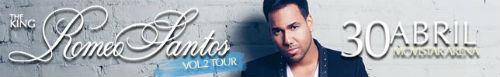 Concierto Romeo Santos Chile 2014